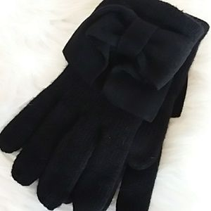 Black Kate Spade Gloves